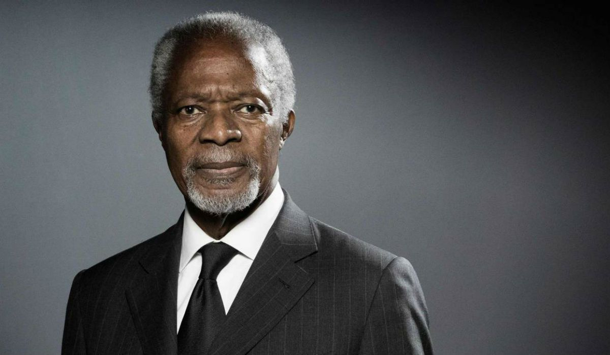 Murió Kofi Annan