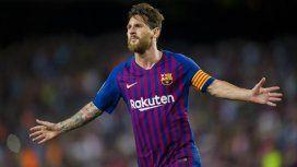 Messi en Barcelona - Crédito:@FCBarcelona