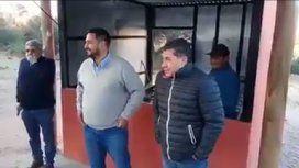Insólito: el gobernador de La Rioja inauguró un puesto de tortillas