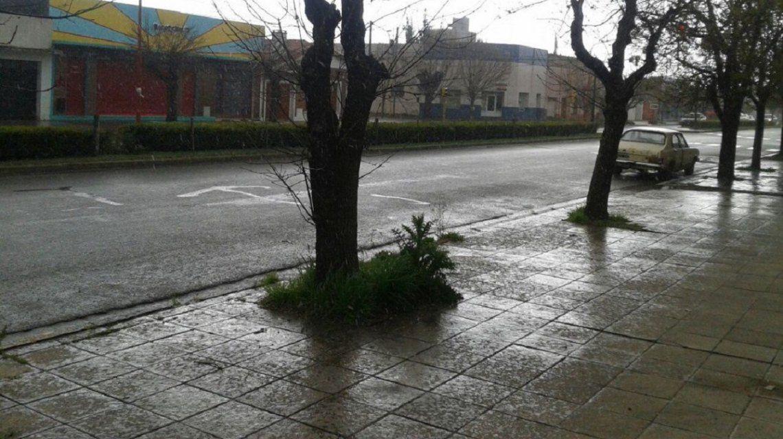 Graupel en provincia de Buenos Aires - Crédito:@LU24TresArroyos