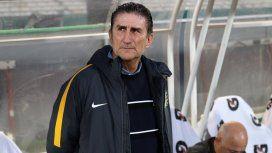 Edgardo Bauza, el DT del puntero