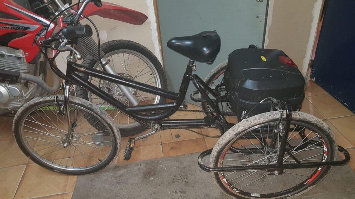 Recuperaron la bicicleta adaptada que le habían robado a un joven discapacitado