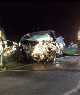 Murieron dos rugbiers tras chocar contra una camioneta