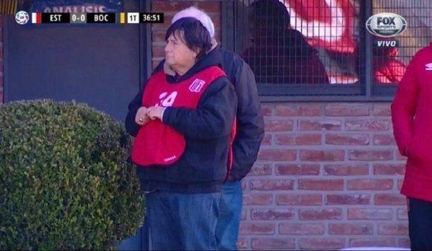 El Brujo Manuel en Estudiantes de La Plata