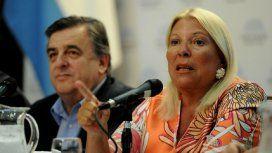 Mario Negri y Elisa Carrió