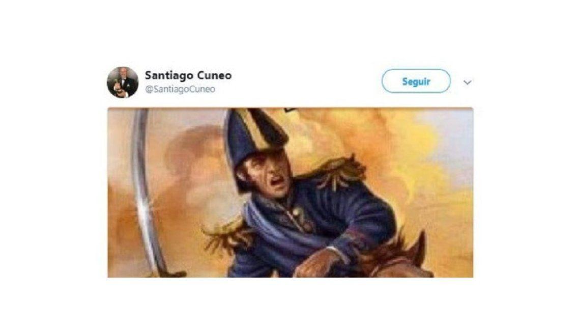 El polémico posteo de Santiago Cúneo