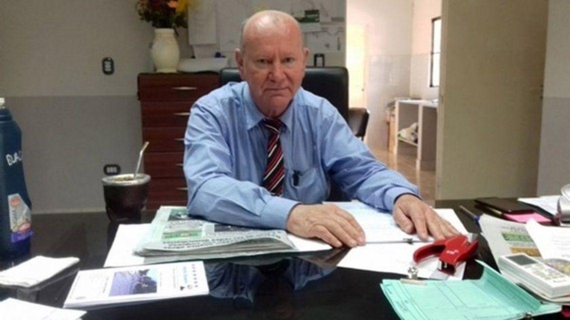 Se entregó Lorenzo Heffner, el intendente de Cambiemos que escondió $2 millones en el techo de su casa