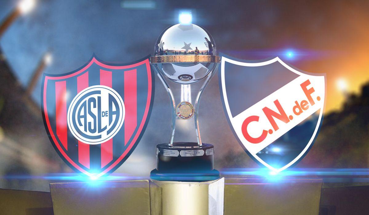 San Lorenzo - Nacional de Montevideo por Copa Sudamericana: horario, formaciones y TV