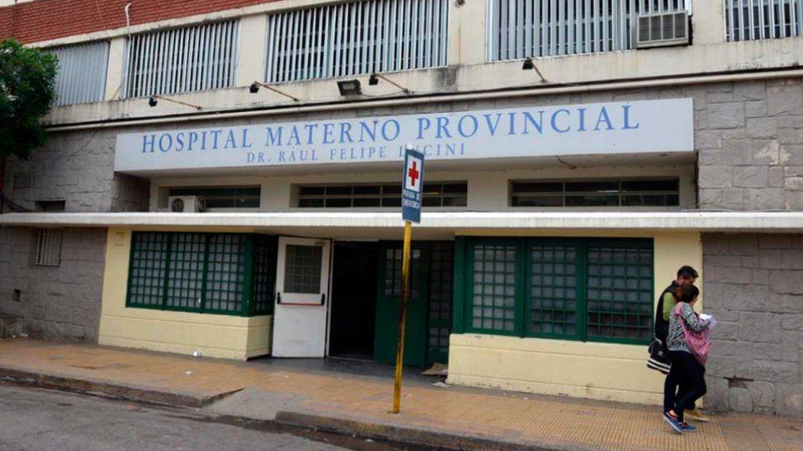 La joven está internada en el Hospital Materno Provincial