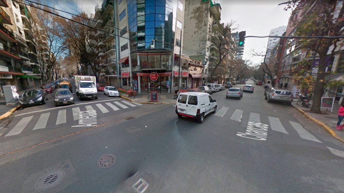 Encontraron una granada en plena calle de Palermo