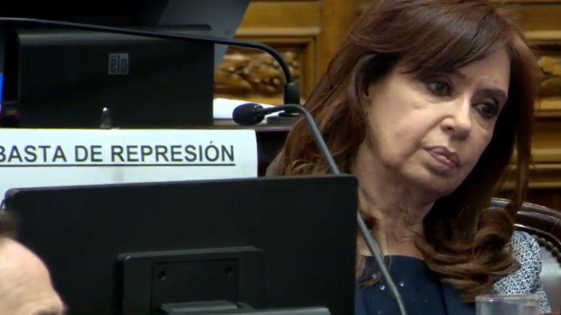 VIVO: El Senado debate el pedido de allanamientos a los domicilios de Cristina Kirchner