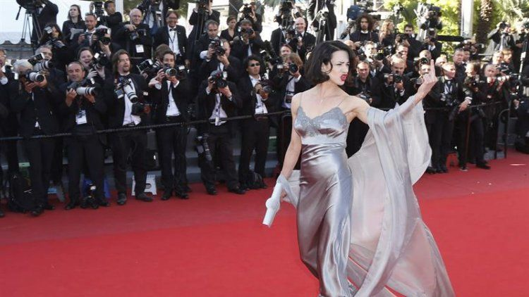 Asia Argento dio la nota final en Cannes