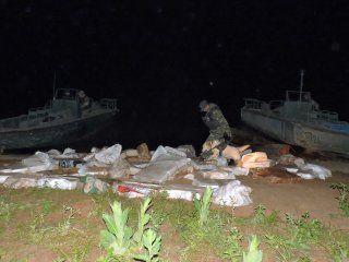 operativo jumanji: secuestraron casi dos toneladas de marihuana en la selva misionera