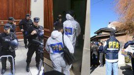 Allanamientos a las viviendas de Cristina Kirchner