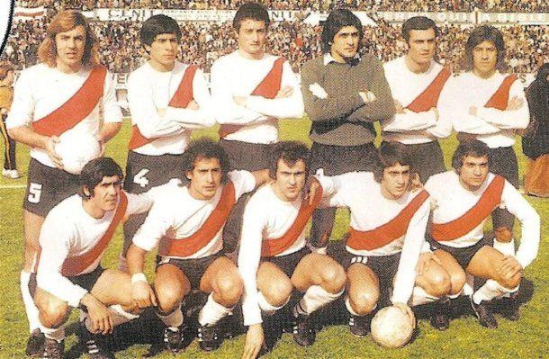 River campeón 1975 con Pablo Comelles<br>