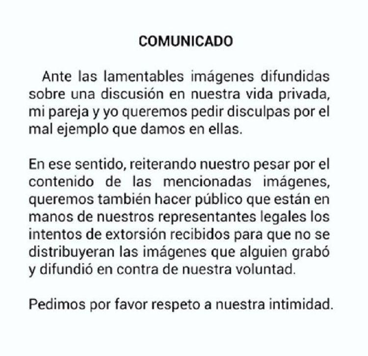 Escándalo en España: un futbolista de la Liga escupió a su novia en plena calle
