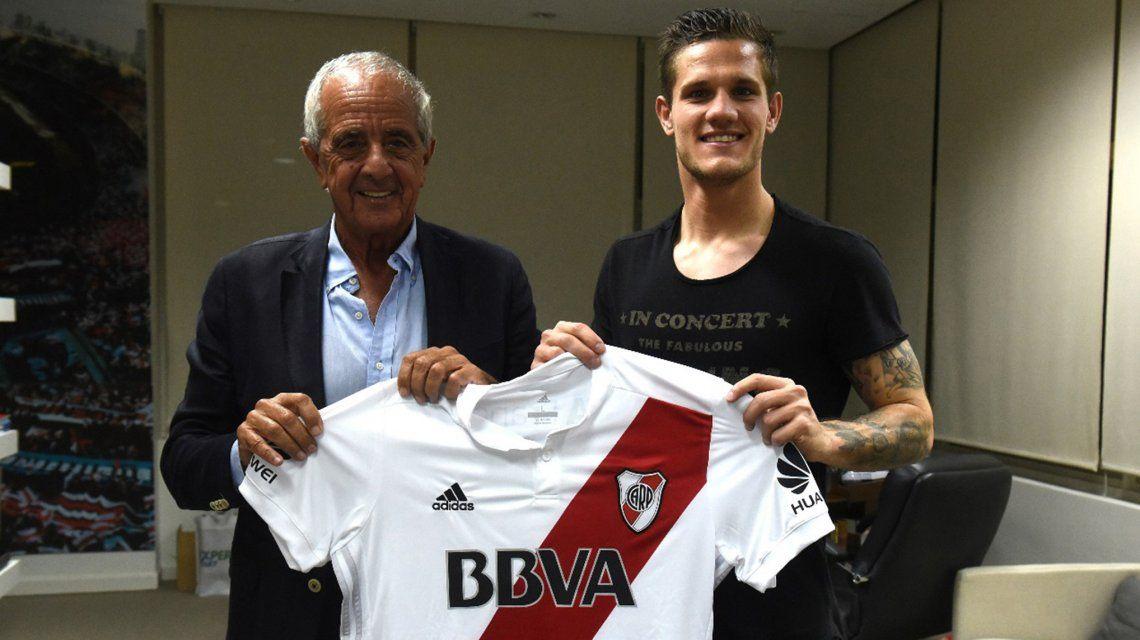 Rodolfo Donofrio y Bruno Zuculini