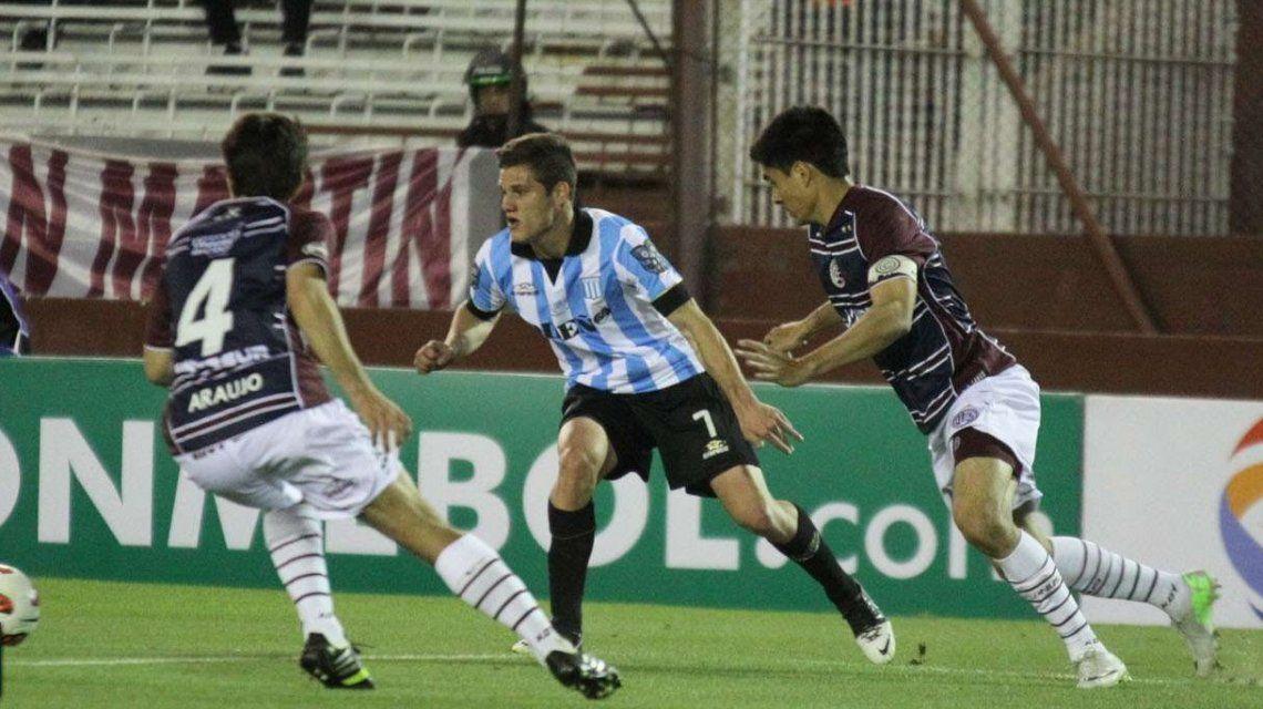 Bruno Zuculini vs. Lanús