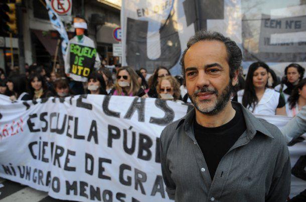 Eduardo López, secretario general de la UTE<br>
