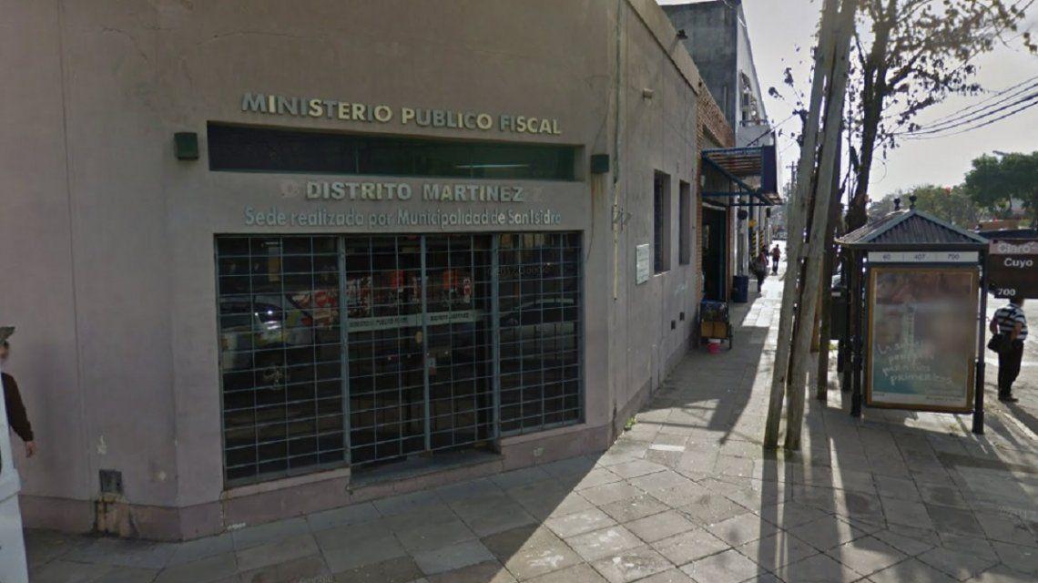 Dos presos forzaron una reja y se escaparon de la fiscalía de Martínez