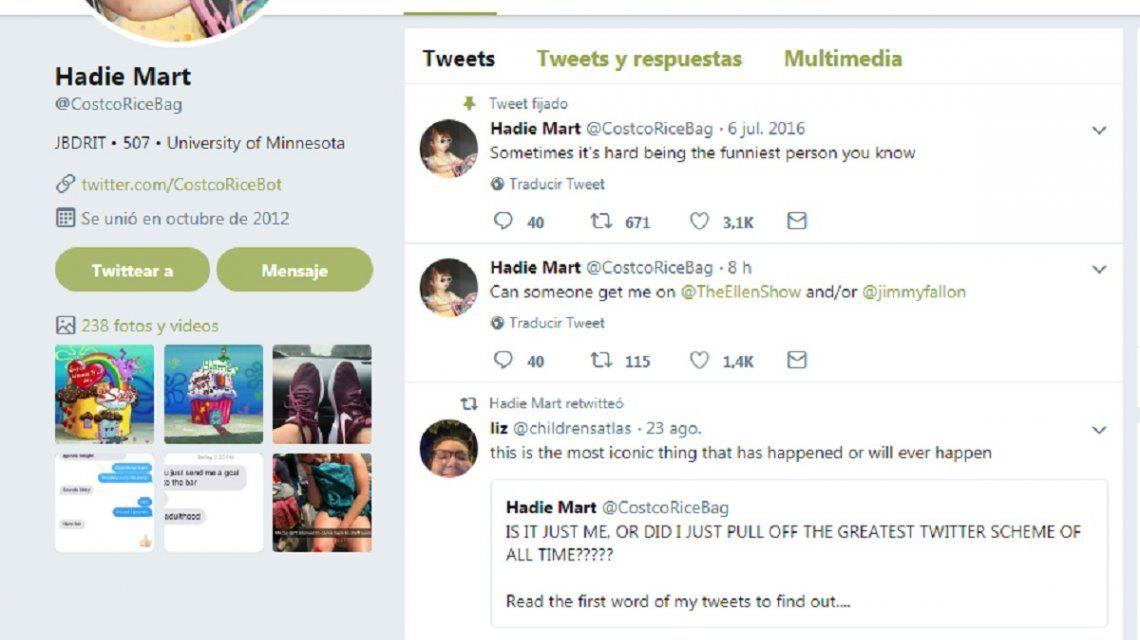 Una joven pasó 4 meses haciendo un experimento en Twitter: el resultado es asombroso