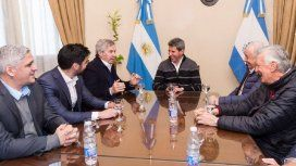 Felipe Solá se juntó con Uñac y Gioja en San Juan