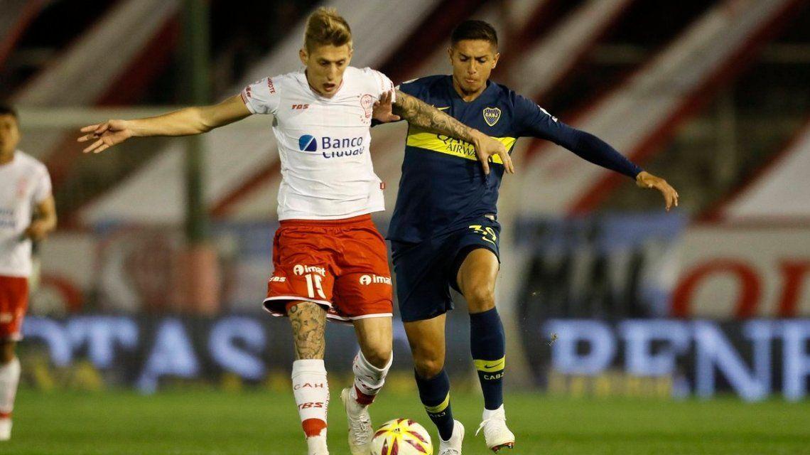 En la vuelta de Gago, Boca y Huracán aburrieron a todos y empataron sin goles