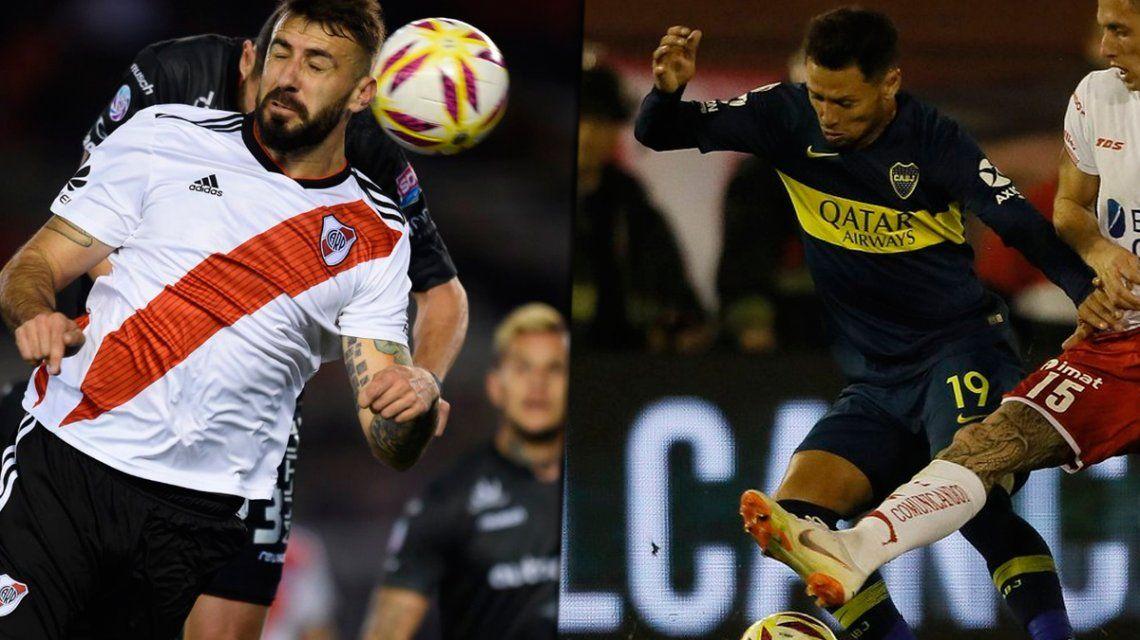Un gol en seis partidos y una anemia preocupante: los números de Boca y River en la Superliga