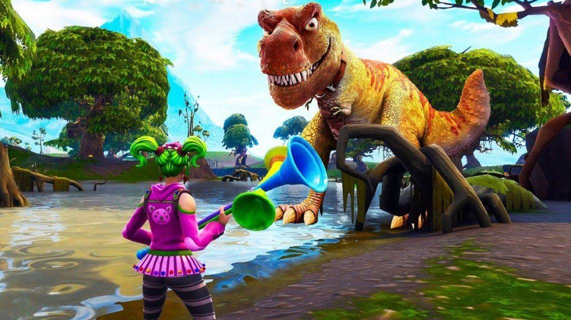 ¿Llegan los dinosaurios al Fortnite?