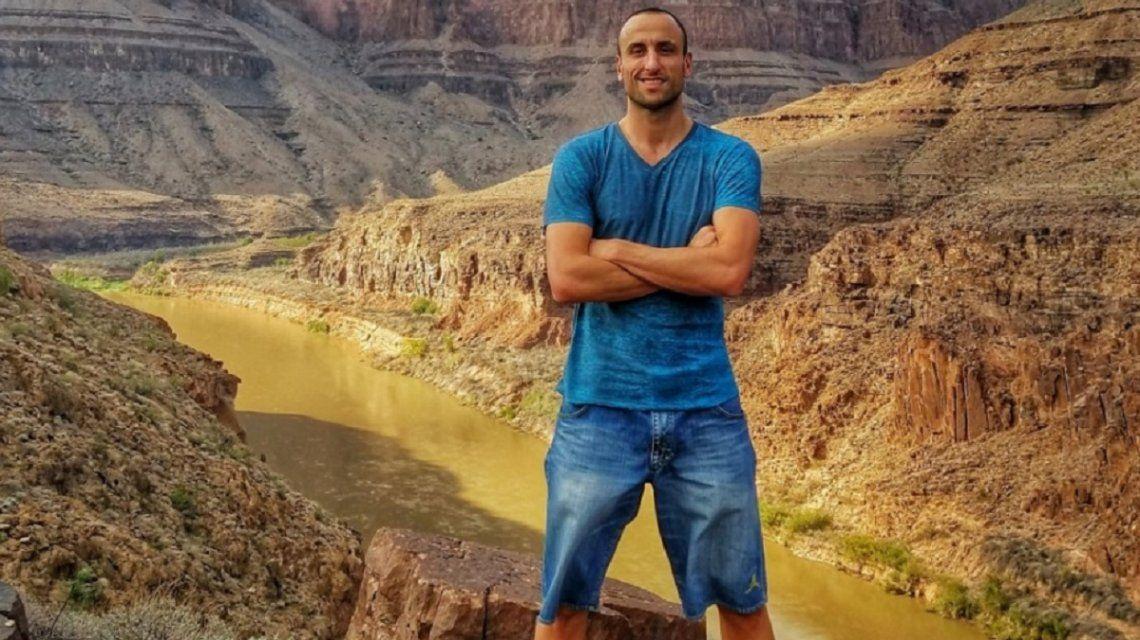 Polenta a la tabla, asado y familia: ¿qué hará Manu Ginóbili tras el retiro?
