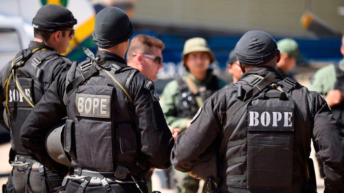 Lanús: analizan capacitar a la policía por profesionales del BOPE