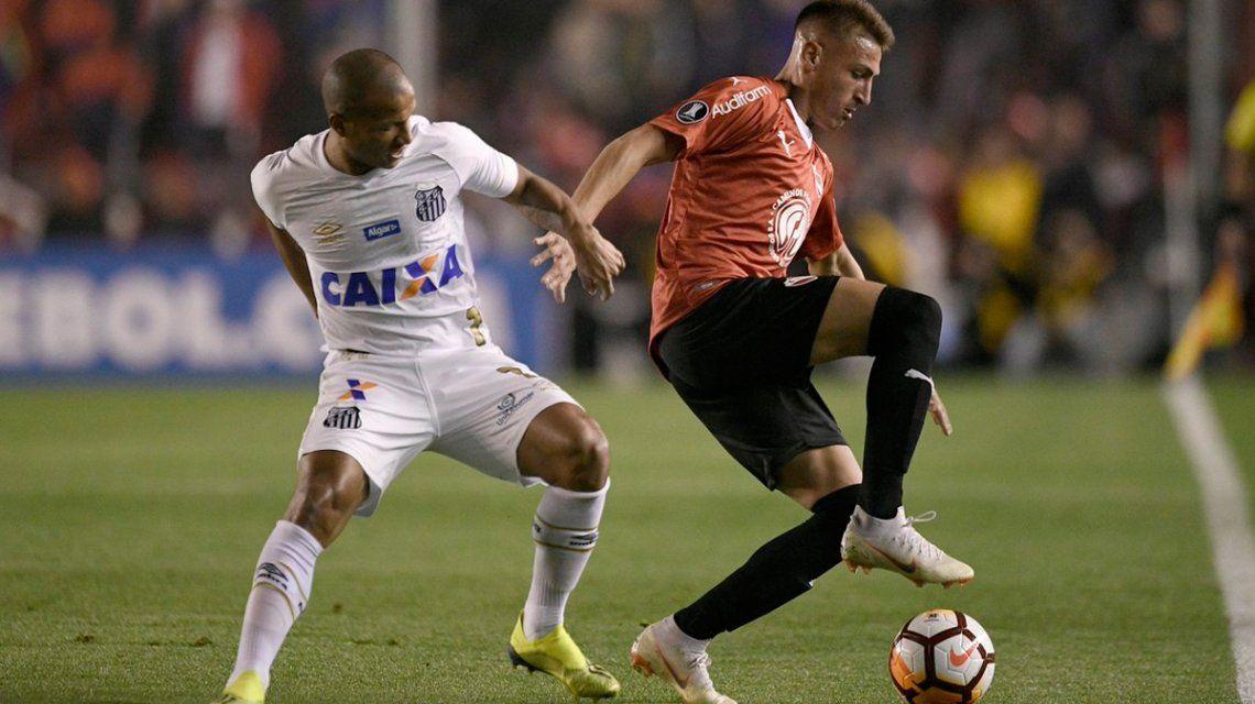 Conmebol falló a favor de Independiente: el Rojo ganó 3-0 la ida ante Santos