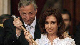 Cristina denunció que Bonadio se llevó de su casa las bandas y bastones presidenciales