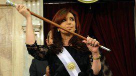 Cristina Kirchner recuperó los bastones presidenciales tras la orden de Bonadio