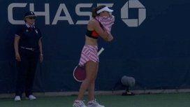 ¿Machismo en el US Open? Sancionaron a una jugadora por exhibicionismo y hay indignación