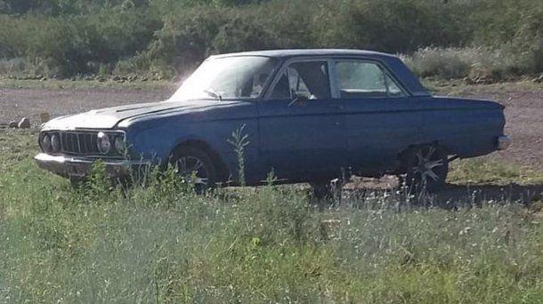 <p>El auto que le robaron a los Su&aacute;rez.</p>