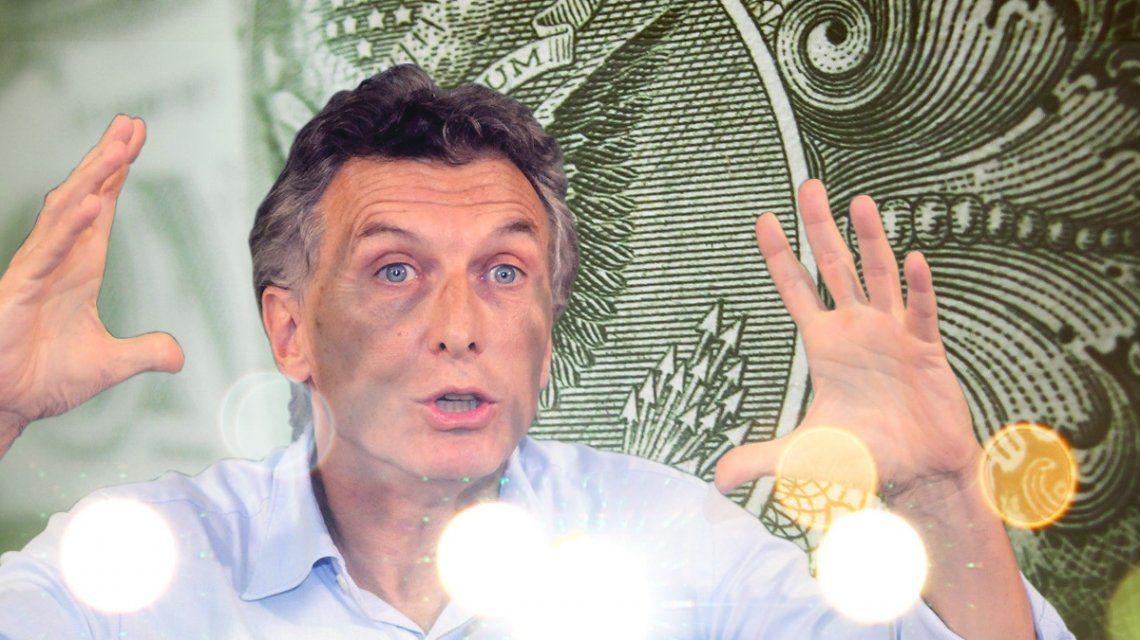 El anuncio de Macri no calmó nada, el dólar subió $2,41 en el día y cerró a $34,48