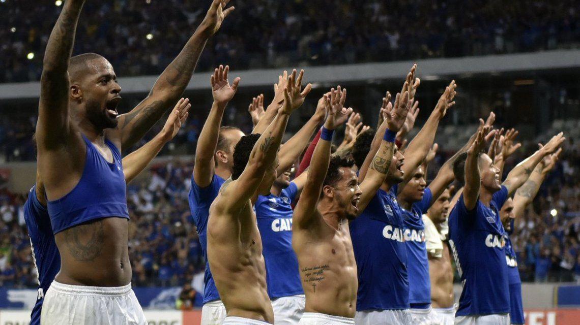 Cruzeiro celebra su clasificación
