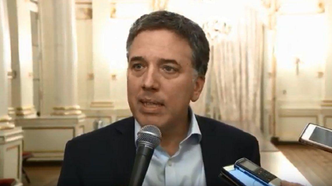 Dujovne dijo que no es una sorpresa la salida de Luis Caputo del Banco Central
