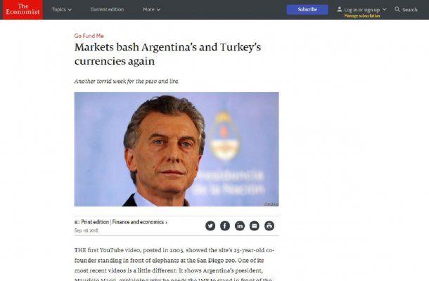 Argentina y Turquía, muy golpeadas por los mercados según The Economist