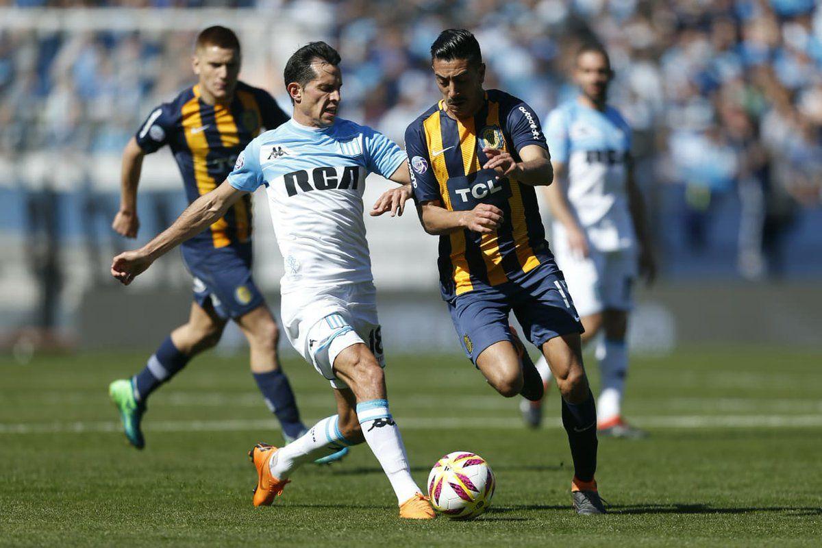Racing le rompió el invicto y le arrebató la punta a Rosario Central