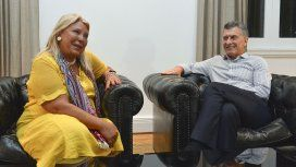 Elisa Carrió y Mauricio Macri