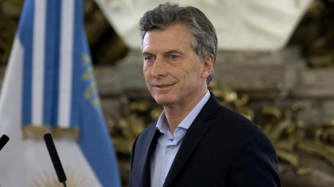 Mauricio Macri en Casa de Gobierno