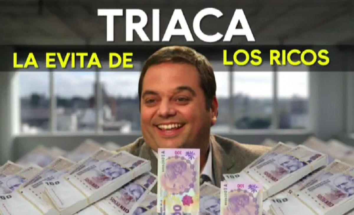 La Evita de los ricos