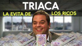 La Evita de los ricos, era el título del informe de ADN