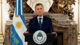 Macri anunció recortes en los Ministerios, retenciones y un refuerzo de la AUH
