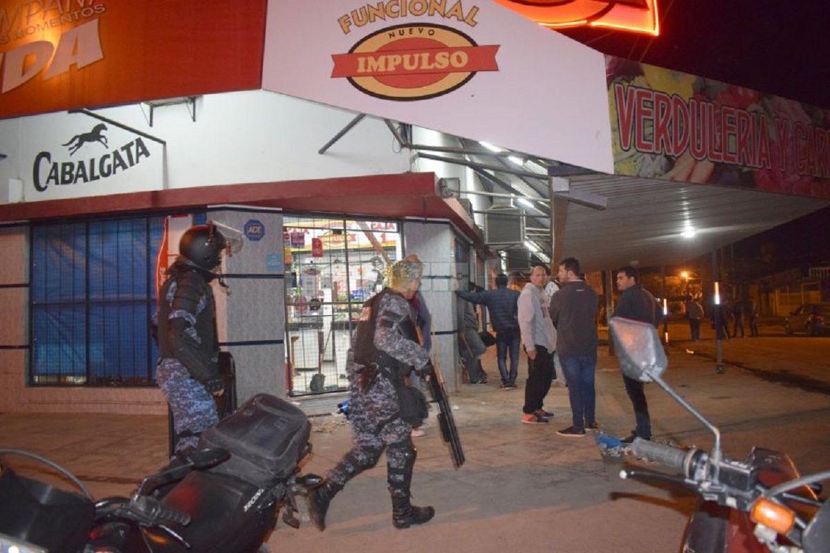Intentaron hacer un saqueo en Presidencia Roque Sáenz Peña