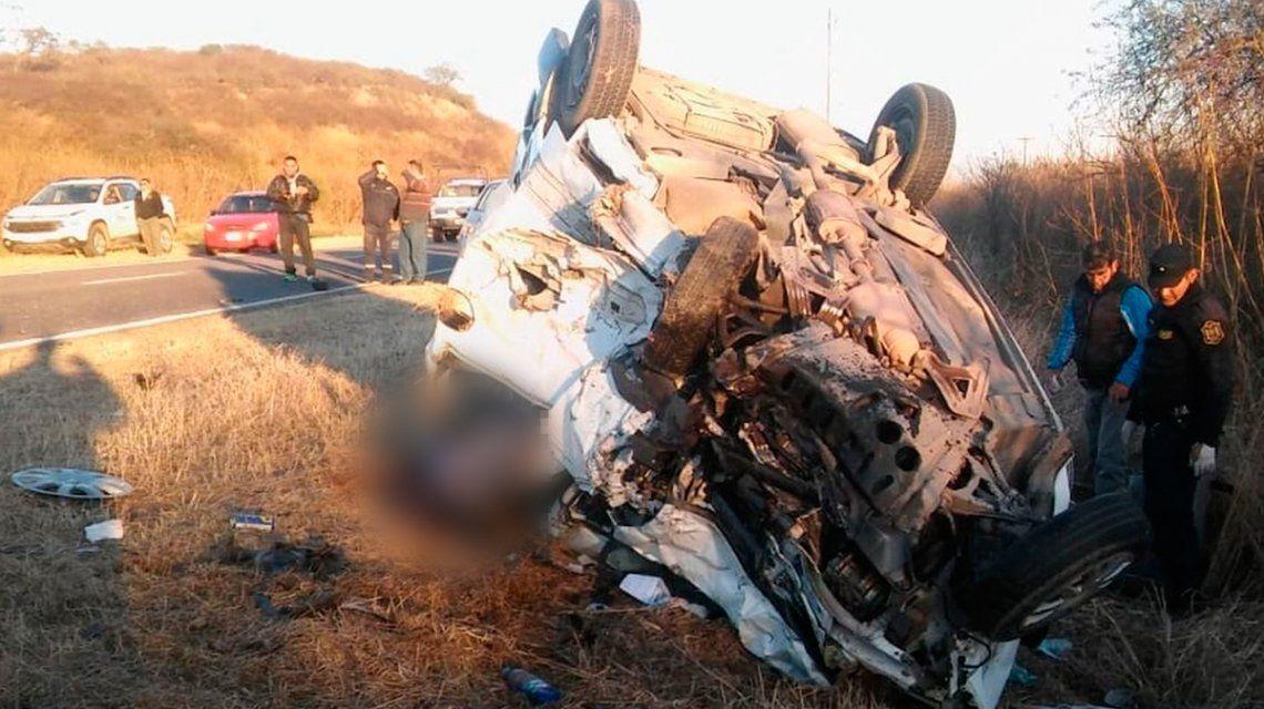 Salta: ocho personas murieron en un choque