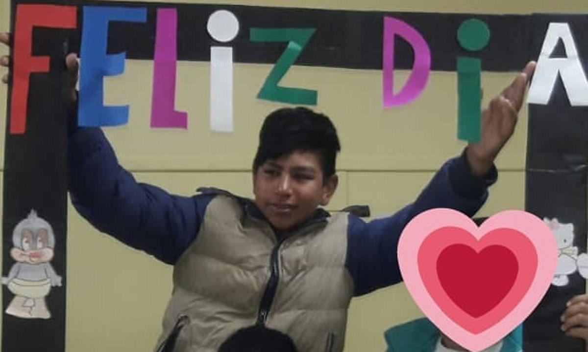 La maestra del chico asesinado en el Chaco lo despidió con un emotivo mensaje