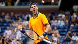 Del Potro en el US Open